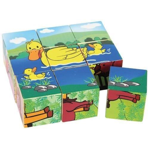Puzzle cubes ferme achat vente puzzle cdiscount - Cdiscount belgique ferme ...