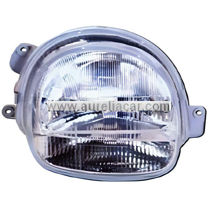 phare avant droit renault twingo avec verre strie de 1998 a 2000 achat vente phares. Black Bedroom Furniture Sets. Home Design Ideas