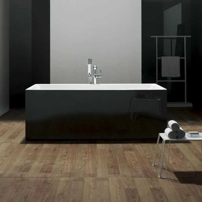 baignoire ilot achat vente baignoire ilot pas cher cdiscount. Black Bedroom Furniture Sets. Home Design Ideas