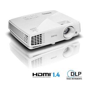 BENQ TW529 Vidéoprojecteur DLP Compatible 3D - WXGA - HDMI, USB
