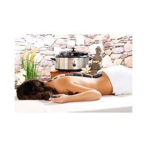 APPAREIL MASSAGE MANUEL Kit de massage ''Hot Stones''