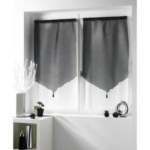 rideaux 70x120 achat vente rideaux 70x120 pas cher cdiscount. Black Bedroom Furniture Sets. Home Design Ideas