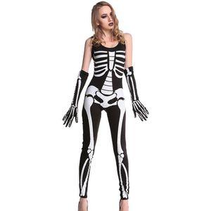 deguisement squelette adulte halloween achat vente jeux et jouets pas chers. Black Bedroom Furniture Sets. Home Design Ideas