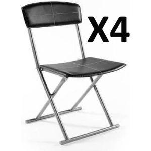 chaise pliante cuisine achat vente chaise pliante cuisine pas cher cdiscount. Black Bedroom Furniture Sets. Home Design Ideas
