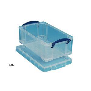 Boite plastique de rangement 6 litres achat vente - Boite de rangement plastique avec couvercle pas cher ...