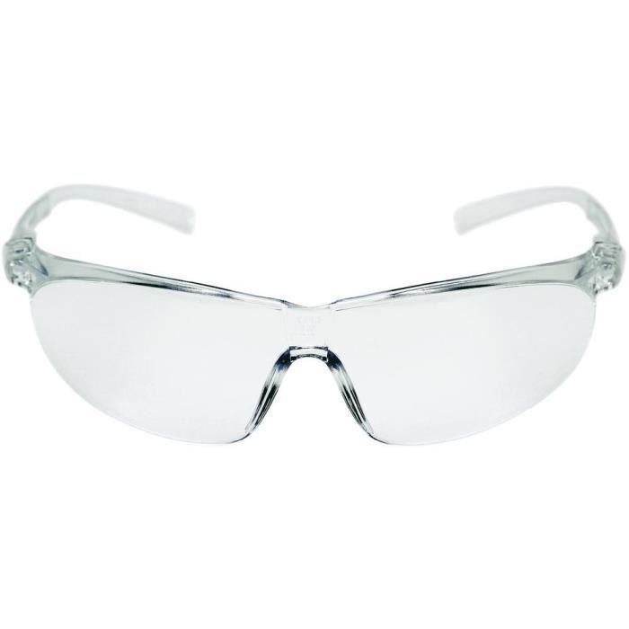 lunettes de protection 3m tora claire achat vente. Black Bedroom Furniture Sets. Home Design Ideas