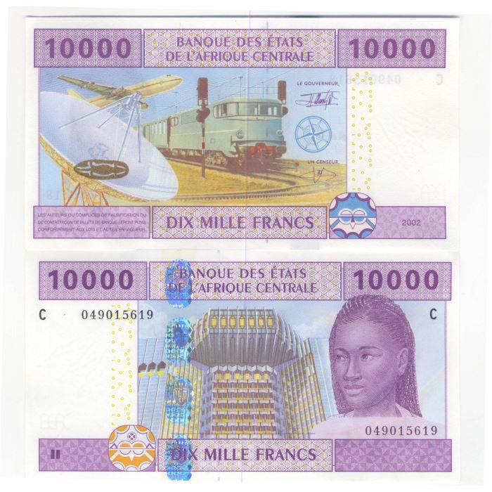 billets banque afrique centrale tchad pk n 610 achat vente billet de banque billets banque. Black Bedroom Furniture Sets. Home Design Ideas