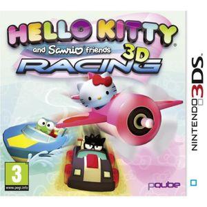 JEU 3DS Hello Kitty & Friends 3D Racing Jeu 3DS