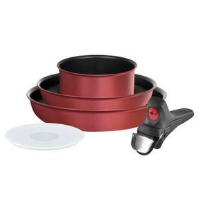 TEFAL INGENIO PERFORMANCE THERMO COACH Batterie de cuisine L6979002 5 pi?ces 18-22-26cm tous feux dont induction