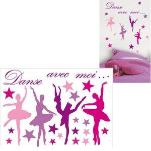 STICKERS Stickers Muraux Danseuse