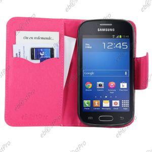 Samsung galaxy trend etui achat vente pas cher cdiscount - Samsung galaxy trend lite blanc pas cher ...