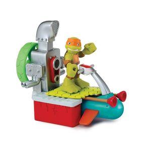 figurine personnage figurine 6 cm tortues ninja half shell heroes mi