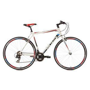 """VÉLO DE COURSE - ROUTE Vélo route 28"""" Velocity blanc TC 59 cm"""