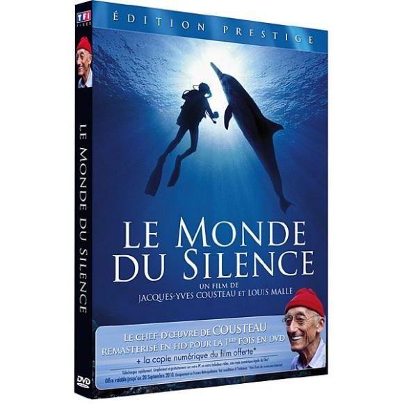dvd cousteau le monde du silence en dvd documentaire pas cher malle louis cousteau jacques. Black Bedroom Furniture Sets. Home Design Ideas