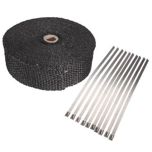 bande thermique isolant pour chappement achat vente collier d 39 chappement bande thermique. Black Bedroom Furniture Sets. Home Design Ideas