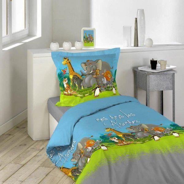 de lit pour couchage de 1 personne comprenant la housse de couette