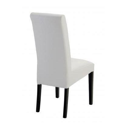 Lot de 2 chaises de salle manger adriana blanc achat - Chaise blanche de salle a manger ...
