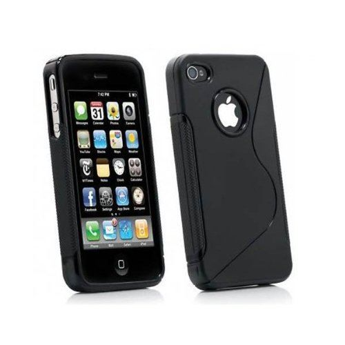 Coque housse etui silicone s line pour iphone 4 iphone 4s for Etui housse iphone 4