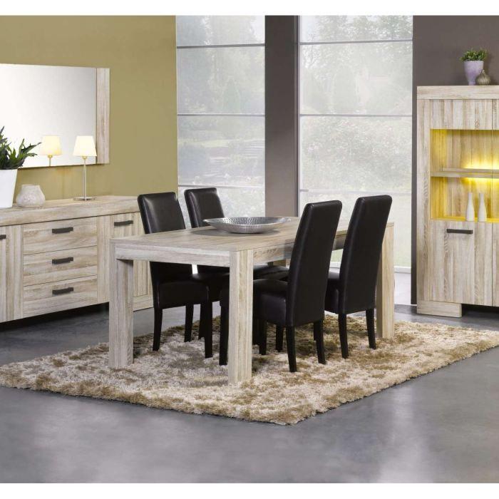 Table de salle manger sydney en 140 cm achat vente for Achat table de salle a manger
