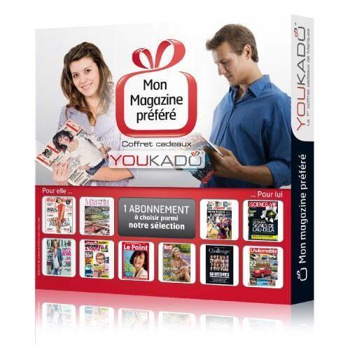 COFFRET SÉJOUR Coffret Cadeaux - Mon magazine préféré - Adultes C