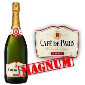 PÉTILLANT & MOUSSEUX Café de Paris Brut  Magnum 1.5L