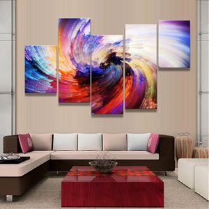 Toile tableau geometrique achat vente toile tableau geometrique pas cher cdiscount - Peinture abstraite coloree ...