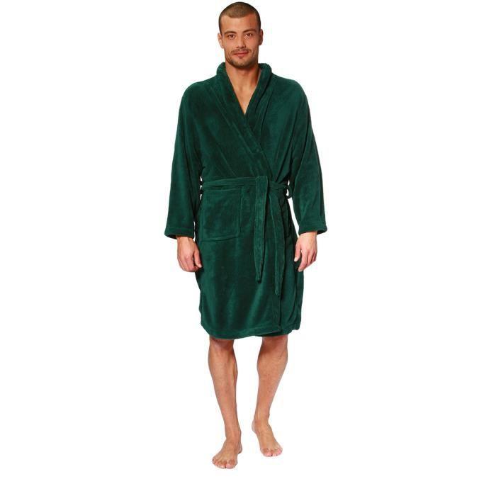 Robe de chambre homme les bons plans de micromonde - Achat robe de chambre homme ...