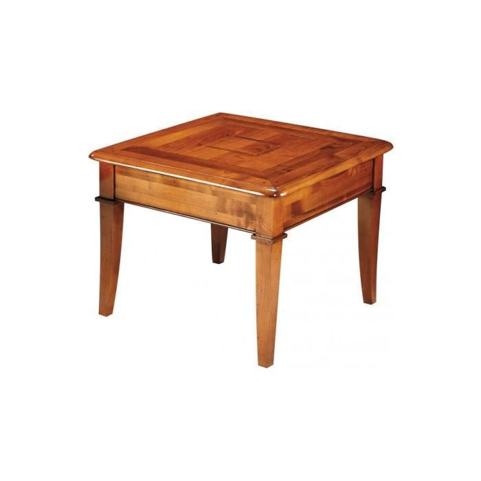 Table basse carr e achat vente table basse table basse for Kendra table basse
