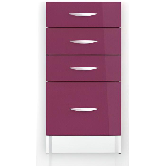 Meuble bas cuisine 4 tiroirs achat vente meuble bas - Meuble tiroir pas cher ...