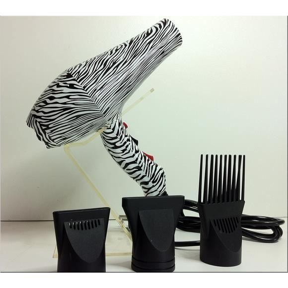 seche cheveux de salon afro antilles embout peigne achat. Black Bedroom Furniture Sets. Home Design Ideas