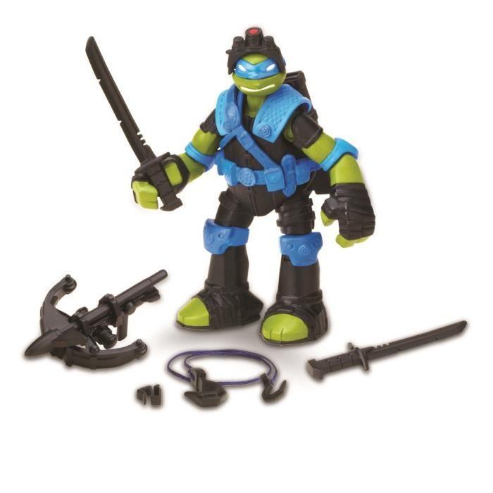 Tortues ninja leonardo figurine tyrolienne 12 cm achat vente figurine personnage cdiscount - Leonardo tortues ninja ...