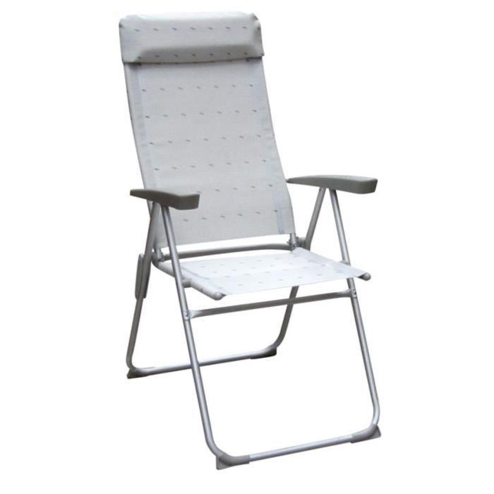 fauteuil eco haut gris clair achat vente chaise de camping fauteuil eco haut gris clair. Black Bedroom Furniture Sets. Home Design Ideas