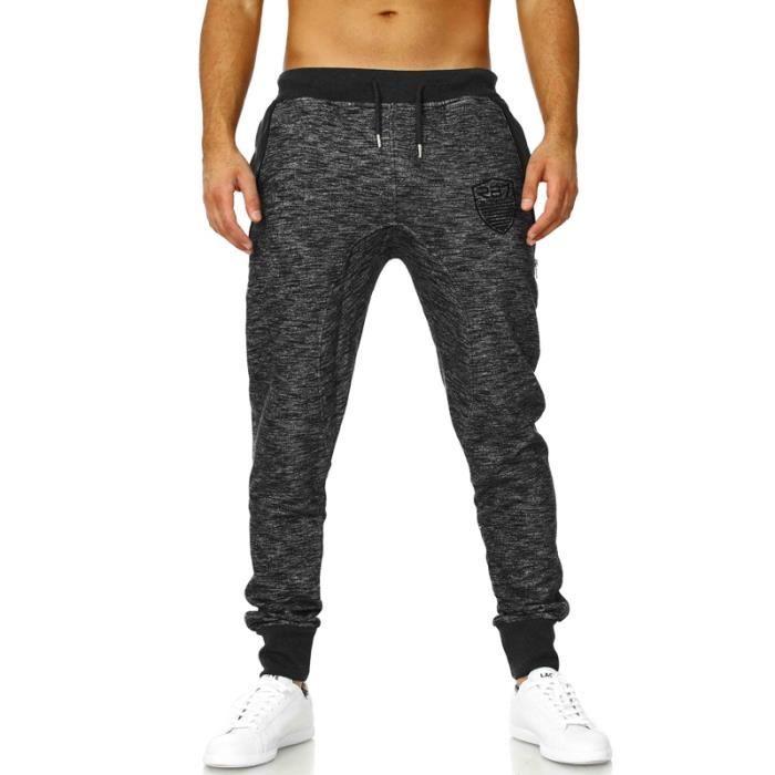 Jogging homme mode jogging rv katacho gris gris achat vente surv tement de sport cadeaux - Jogging a la mode ...