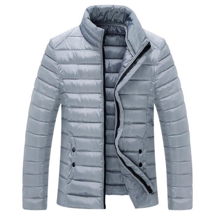 parka homme veste doudoune homme paillette mant gris achat vente parka cdiscount. Black Bedroom Furniture Sets. Home Design Ideas