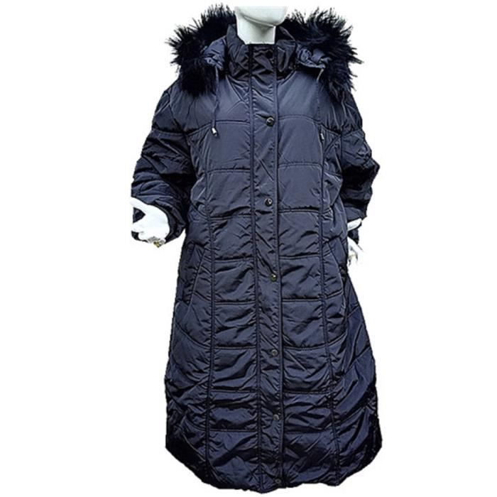 doudoune manteaux longue femme grande taille 46 48 50 52 54 56 58 capuche c 1612 noir noir noir. Black Bedroom Furniture Sets. Home Design Ideas