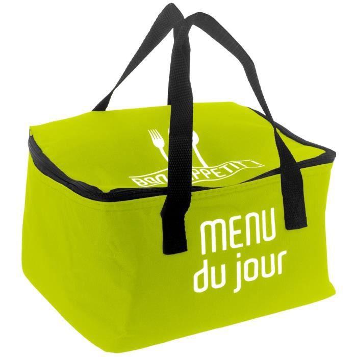 Sac Panier Repas : Lunch bag sac panier repas fraicheur isotherme menu du