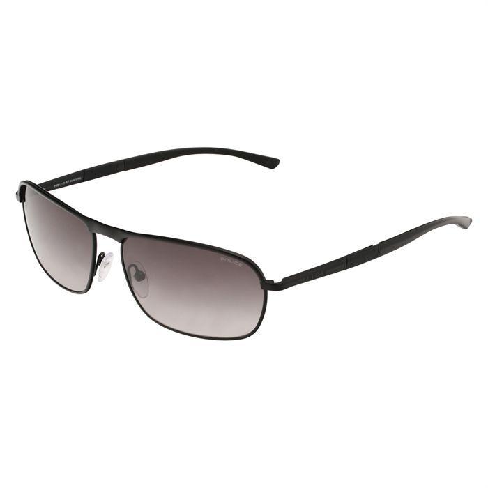 police lunettes de soleil homme noir achat vente lunettes de. Black Bedroom Furniture Sets. Home Design Ideas