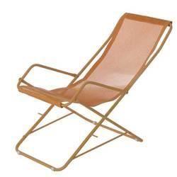 Lot de 2 chiliennes impala orange achat vente chaise - Chaise longue soldes ...