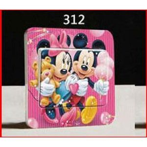 Cadre minnie achat vente cadre minnie pas cher cdiscount for Stickers mickey chambre