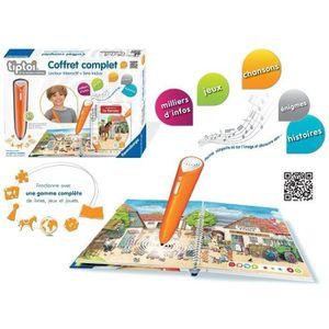 LIVRE INTERACTIF RAVENSBURGER Tiptoi® Coffret Complet Livre + Lecte
