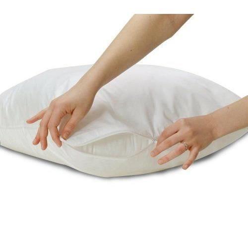 allersoft protection de coussin anti acariens et anti punaises de lit 100 coton 50 x 70 cm. Black Bedroom Furniture Sets. Home Design Ideas