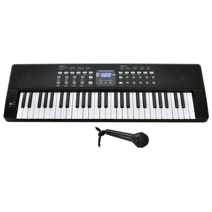 piano clavier 54 touches micro achat vente piano. Black Bedroom Furniture Sets. Home Design Ideas