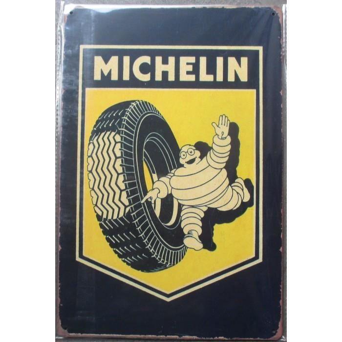 Plaque michelin achat vente plaque michelin pas cher for Comparateur garage pneu