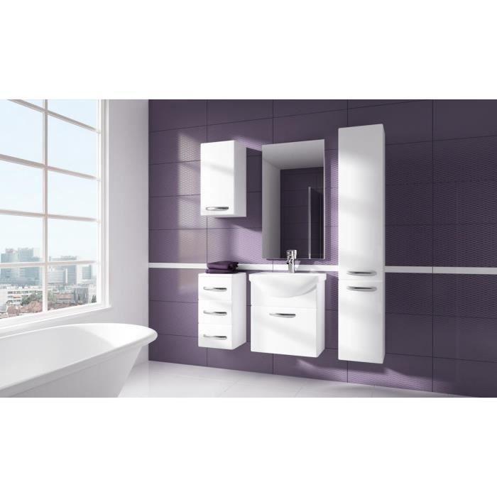 Ensemble meuble salle de bains 5 elements eden achat for Element de salle de bain