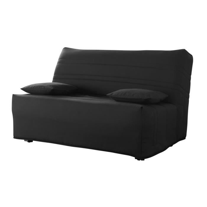 banquette bz noir 2 places louxor achat vente bz. Black Bedroom Furniture Sets. Home Design Ideas