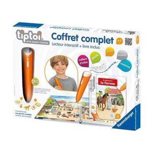 Tiptoi® Coffret Complet Livre + Lecteur Interactif