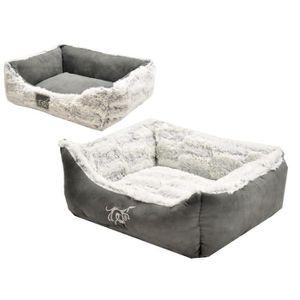 VADIGRAN Panier pour chien Cloudy gris 45 x 40cm