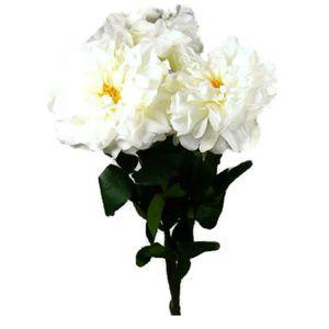 bouquet fleurs artificielles blanches achat vente. Black Bedroom Furniture Sets. Home Design Ideas