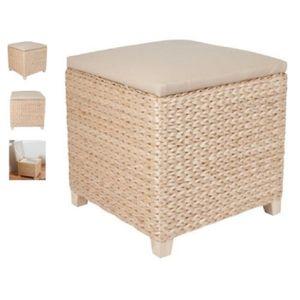 pouf coffre de rangement en osier achat vente pouf poire soldes d hiver d s le 11. Black Bedroom Furniture Sets. Home Design Ideas