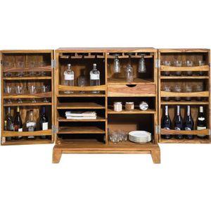 Meuble bar en bois achat vente meuble bar en bois pas Meuble bar design contemporain